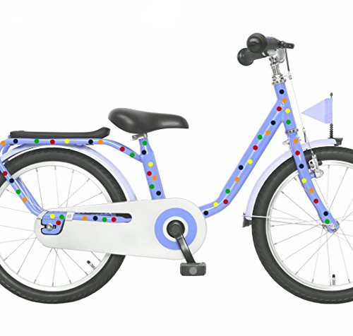 ilka parey wandtattoo-welt Fahrradaufkleber Set Konfetti bunte Punkte Fahrradsticker Aufkleber für Kinder - Aufkleber Welt