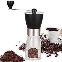 Manual de molinillo de café de fresas  Cerámica cónica ajustable de fresas Asamblea para preparación de precisión