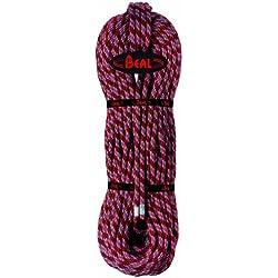 BEAL CU098S.80 - Cuerda específica de escalada, color rojo (rouge), talla FR: 9,8 mm x 80 m