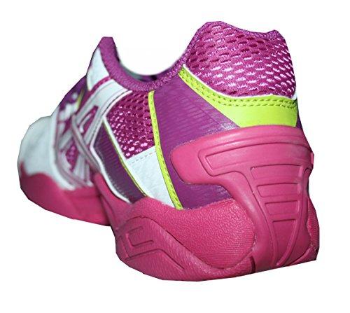 Asics Gel Approach 2 Damen Handballschuhe Hallenschuhe weiss/purple/pink