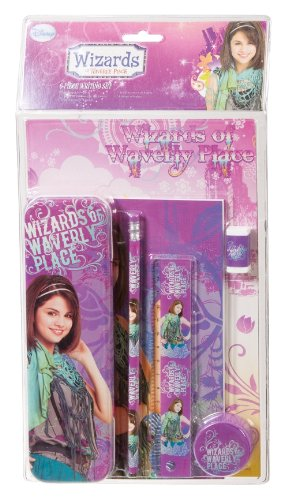 united-labels-wizards-of-waverly-place-0109528-set-de-escritorio-incluye-estuche-lapiz-regla-goma-de