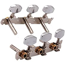 3R3L Guitar Tuning Pegs Tuner Machine Heads Chrome for Classical Guitar