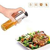 Steefany-Tea Öl Sprüher, Öl Spray, Oil Sprayer, Olivenöl Sprayer, Edelstahl Öl & Essig Spender Ölbehälter Auslaufsicher Ölflasche, Kochen und Salat Gewürz Geschirr Werkzeuge