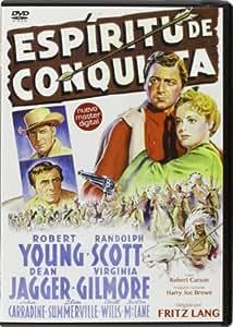 Espiritu de Conquista DVD [DVD] [1941] *** Region 2 *** Spanish Edition ***
