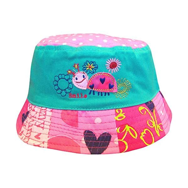 Sombrero de playa para bebé, calado, diseño de pájaro o tortuga 1
