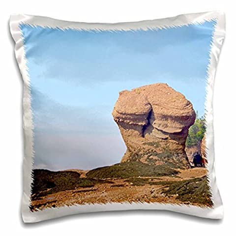 Danita Delimont - Rock Formations - New Brunswick, Bay of Fundy. Hopewell Rocks-CN04 CMI0079 - Cindy Miller Hopkins - 16x16 inch Pillow Case (pc_74732_1)