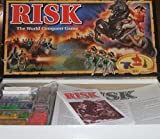 RISK. THE WORLD CONQUEST GAME. 1993 EDITION BOARD GAME BY PARKER BROTHERS.