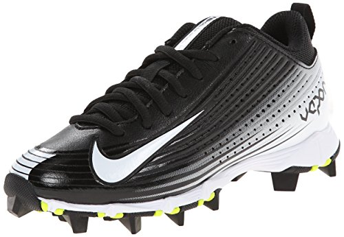 Nike Boy's Vapor Keystone 2 Low (GS) Baseball Cleat Black/White Size 1 M US