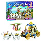 Ingenious Toys® The little mermaid royal carriage - construction set #1113 mermaid