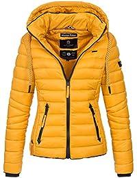 Navahoo Damen Jacke Steppjacke Übergangsjacke Gesteppt Stepp Frühjahr B650