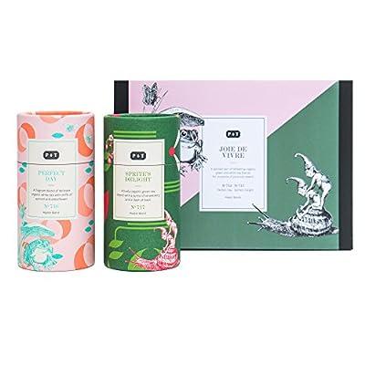 Paper & Tea Joie De Vivre Master Blends Green Tea - Coffret Assortiment Thé Vert Premium Bio Vrac by P&T