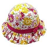 Langzhen Sombrero de Sol Gorro de Cubo Bebé Gorra Niñas Cap Kids Hat Lazo Bucket Toddler con...