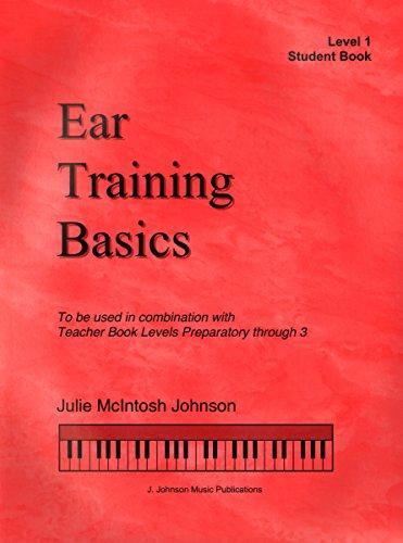 ETB1 - Ear Training Basics Student Book Book/CD - Level 1 - Julie Johnson