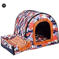 AIflyMi 2 en 1 Cómodo Casa para Mascotas y Sofá,Desmontable Plegable Casetas Casa para