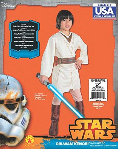 Imagen principal de Star - Disfraz de Star Wars para niño, talla 7 - 9 años (882013_L)