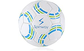 Spinway Hand stitched Latex Gripping Textured PU Football for Professional Play