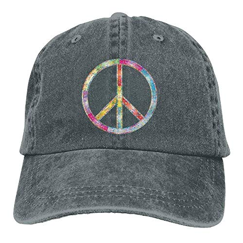 Katze Und Der Hut Zeichen - Bgejkos Druck-Baseball-Katzen-Cowboyhüte der Friedensregenbogen-Zeichen-Frauen Sun-Hüte