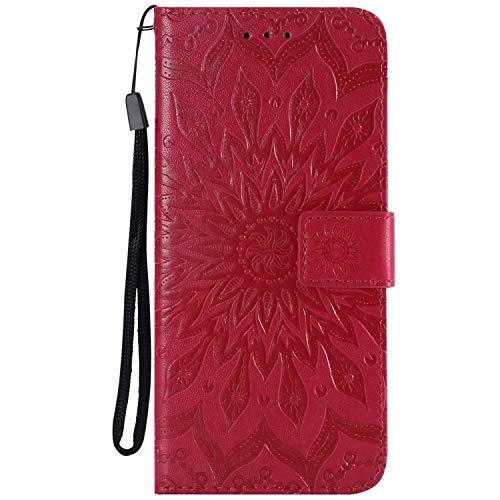 COWX Schutzhülle für Sony Xperia Z5 compact / Z5 mini Hülle Kunstleder Tasche Flip Case
