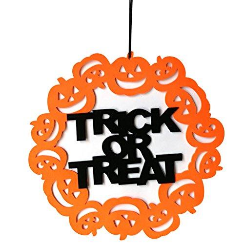 Doubleer Halloween Lustige Hängende Tür Dekorationen und Spuk Wand Türschilder Indoor Outdoor Haus Dekor für Home Office School Party Spooky Dekorationen