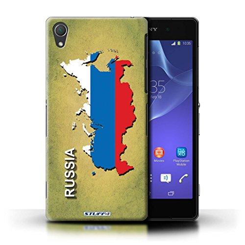 Kobalt® Imprimé Etui / Coque pour Sony Xperia Z2 / Russie/Russe conception / Série Drapeau Pays Russie/Russe