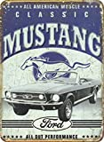FORD Classic Mustang Plaque de stable grande neuf 40x 30cm S3456