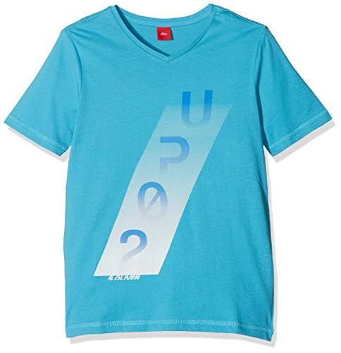 s.Oliver Jungen T-Shirt 61.801.32.6997, Türkis...