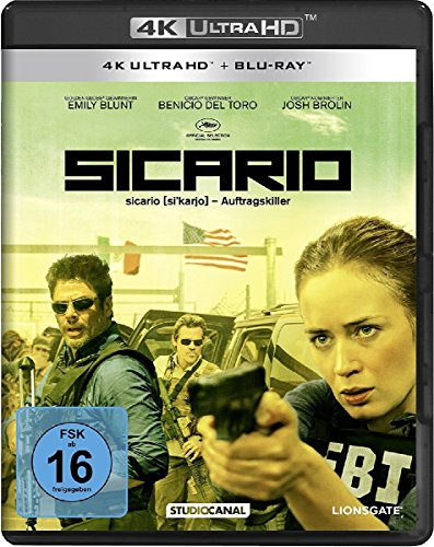 Sicario - Ultra HD Blu-ray [4k + Blu-ray Disc]