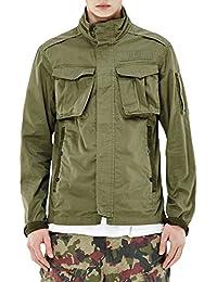 G-Star Men's Rovic Jacket Man Khaki 100% Cotton