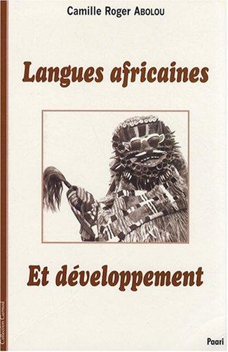 Langues africaines et développement