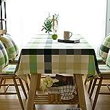 Met Love Großes Gitter Tischdecke Stoff Kunst Einfach Rectangular Tee Tisch Hochzeit Restaurant Party Tisch (Dieses Produkt verkauft nur Tischtücher) ( größe : 135*230cm )