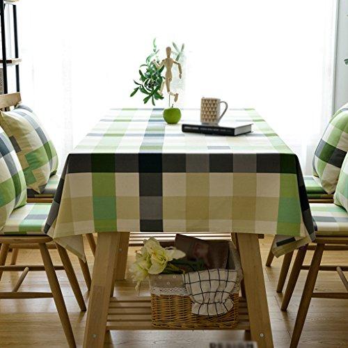 Grau Tee-fleck (Met Love Großes Gitter Tischdecke Stoff Kunst Einfach Rectangular Tee Tisch Hochzeit Restaurant Party Tisch (Dieses Produkt verkauft nur Tischtücher) ( größe : 130*180cm ))