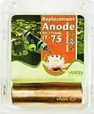 Velda 126700 Ersatz-Kupferanode für Elektronische Entferner gegen Faden- und Schleimalgen T-Flow 75