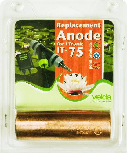 75 Ersatz (Velda 126700 Ersatz-Kupferanode für Elektronische Entferner gegen Faden- und Schleimalgen T-Flow 75)