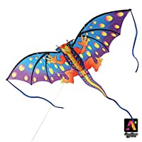"(Orange Dragon (78"" Wide)) - AmaZing Kites 3D Nylon Orange Dragon Kite with 200cm Wingspan (1.8m)"