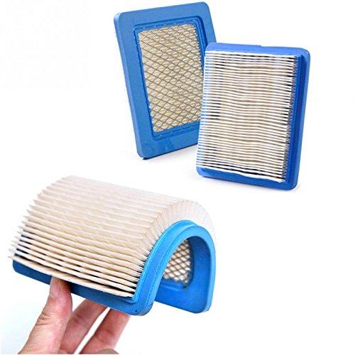Haute qualité carré filtre à air Accessoires de tondeuse papier filtre Élément de filtre pour Briggs Stratton 491588 491588s 5043 5043d etc.