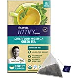 Saffola FITTIFY Gourmet Superfood Moringa Green Tea - 37.5 g (Moroccan Mint, 15 Sachets)