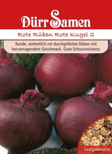 Dürr-Samen Rote Rüben Rote Kugel 2