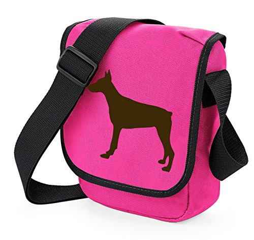 Bag Pixie - Borsa a tracolla unisex adulti Dobe on Pink Bag