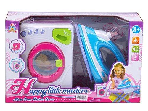 Preisvergleich Produktbild Haushalt Satz von Waschmaschine und Bügeleisen au