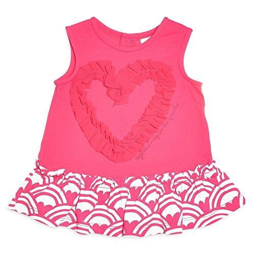 Agatha Ruiz de la Prada Baby Mädchen (0-24 Monate) Asymmetrischer Kleid rosa Fuchsia 64 cm