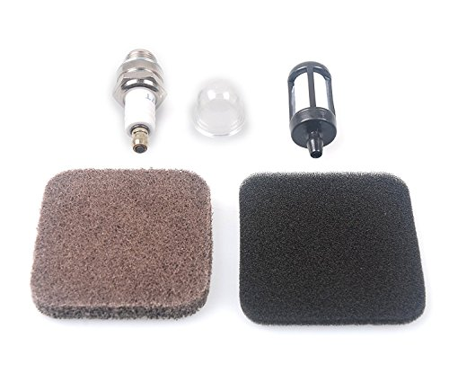 Beehive Filter Pré Filtre à air ,Ampoule d'amorce, Filtre à carburant,Bougie d'allumage pour String Trimmer Brushcutter FS75 FS80 FS85