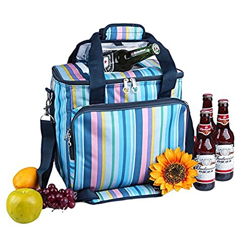 Iode 18L Soft Picnic Cooler Bag for Camping and outdoor–Insulated