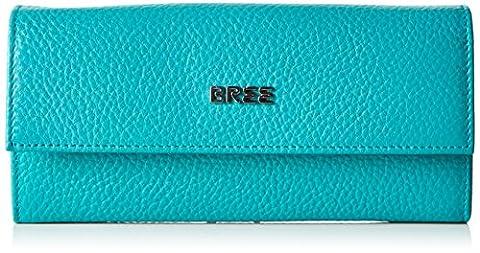 BREE Nola 100 S17, Porte-monnaie femme - turquoise - Türkis (jade), taille unique