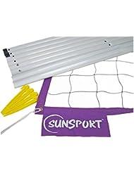 SunSport - Beach Volleyball Set PRO BEACH, Netz und Zubehör