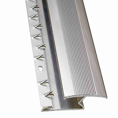 eXtreme® Z-Edge Carpet Door Plate Aluminium Threshold 3ft length