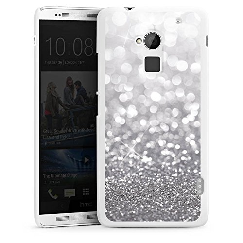 htc-one-max-housse-etui-protection-coque-argent-paillettes-bling-bling