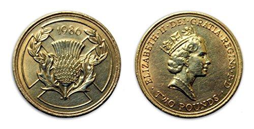 Münzen für Sammler - 1986 Unzirkuliert UK XIII Commonwealth Games britische £ 2 zwei Pfund Gedenkmünze -