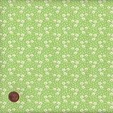 100% Baumwolle Stoff | Grün und Gelb | Kleine