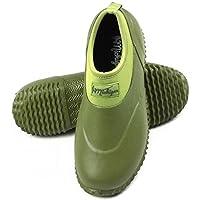 Michigan Green Neoprene Garden Boots Slip On Waterproof Outdoor Shoe, Sizes UK 3 - 13