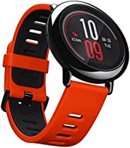AMAZFIT Smart Watch Rubber Band For Android & iOS,Red - A